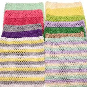 2pcs Stretch 9inch crochet tube top 19*22cm waistband headband Tutu Supplies Tube Tops Cute Wrapped chest Fashion Accessories(China)