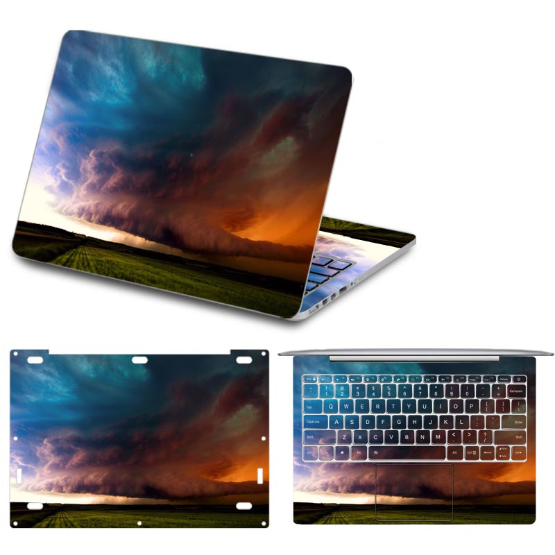 Laptop Sticker for Xiaomi Mi Notebook Pro 15.6 Colorful Full Set Print Decal Vinyl Laptop Skin Sticker for Xiaomi Air 12 13 inch