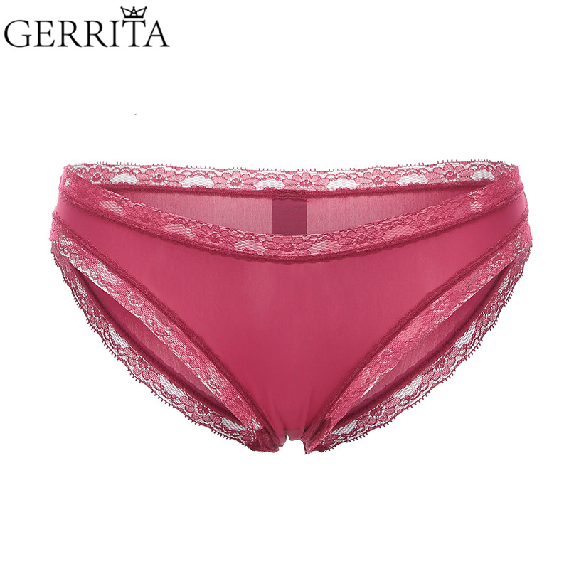 94028f6ecf1 Panties Women Cute Women s Panties Seamless Breathable Panty Briefs Girls  Burgundy Color Underwear Tempting Low-