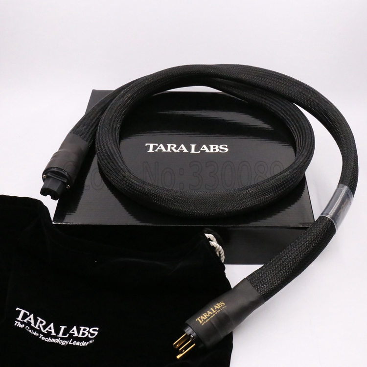Free shipping 1.8M TARA LABS The One AC Power Cable Audiophile Power Cord Cable HIFI 1.8M with US version connector plug free shipping evolution power ii us ac ac power extension cord cable audio power cable for tube amp audiophile