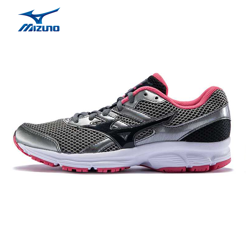MIZUNO Women SPARK(W) Mesh Breathable Light Weight Cushioning Jogging Running Shoes Sneakers Sport Shoes K1GL160491 XYP287 point break children weight running shoes men breathable mesh jogging shoes tide travel shoes