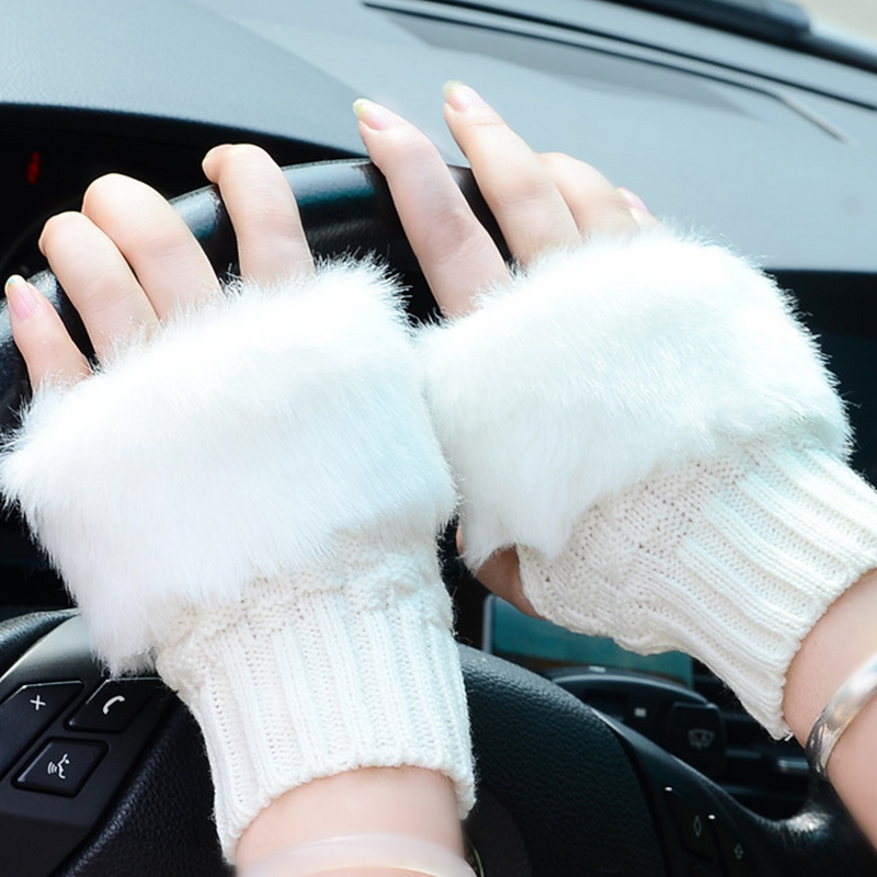 Lovely Feitong Fox Cartoon Hang Neck Children Gloves Winter Thicken Warm Chrismas Xmas Gift Invierno Mujer #4 Apparel Accessories