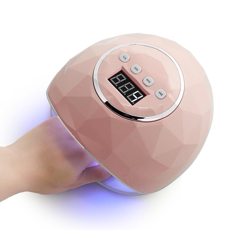 kesinail 86W UV LED Lamp Nail Dryer 39 PCS LEDDual hands Nail Lamp For Curing UV Gel Nail Polish With Sensor Timer LCD Display
