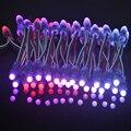500 шт. 12 мм WS2811 IC 2811 RGB Светодиодный Модуль Строка Водонепроницаемый DC12V Цифровой Полноцветный СВЕТОДИОДНЫЙ Пиксель Света