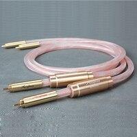 Бесплатная доставка accuphase соединительный кабель с RCA разъем 1.5 meter/pair