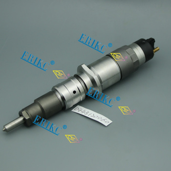 ERIKC Injector 0445120060 CRIN 1-16 Auto Injector Cu/nnins LSBe ISDE6 Common Rail Diesel Injector 0445 120 060 and 1703934