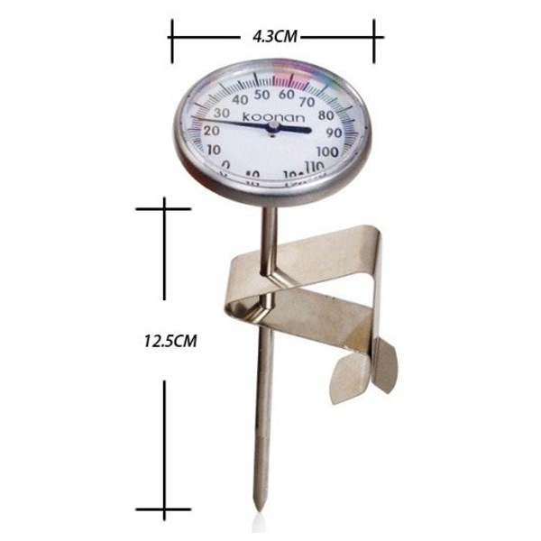 Instant Read Milk Coffee Cooking Thermometer