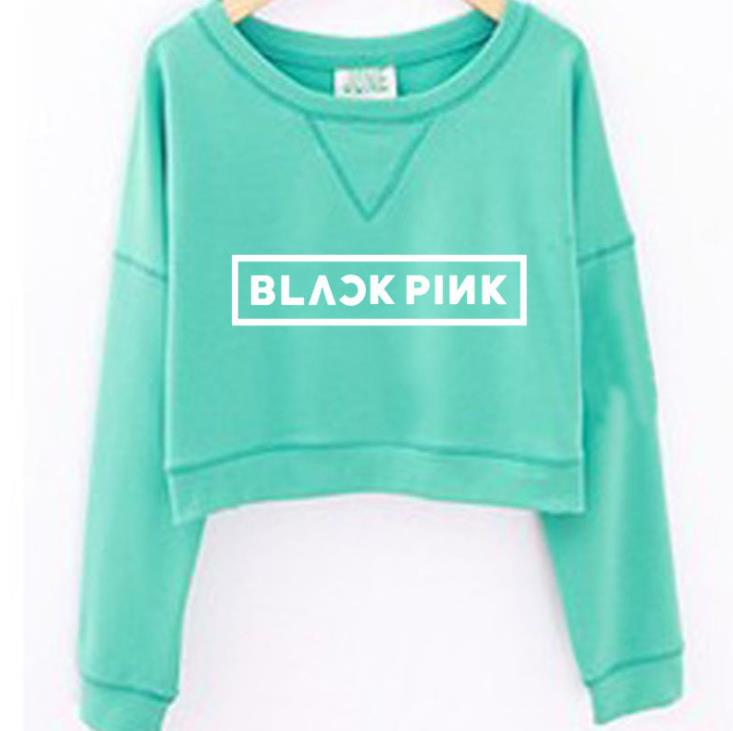 BLACKPINK Kawaii Neck Sweatshirt