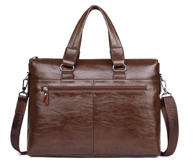 Men's shoulder messenger bag Men Business Briefcase bag for laptop computer man's bag handbag briefcase male messenger bags 3