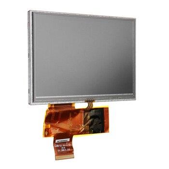 Nuevo 5 pulgadas pantalla LCD RTP 800*480 de resolución con 4-cable resistivo táctil-Módulo de pantalla