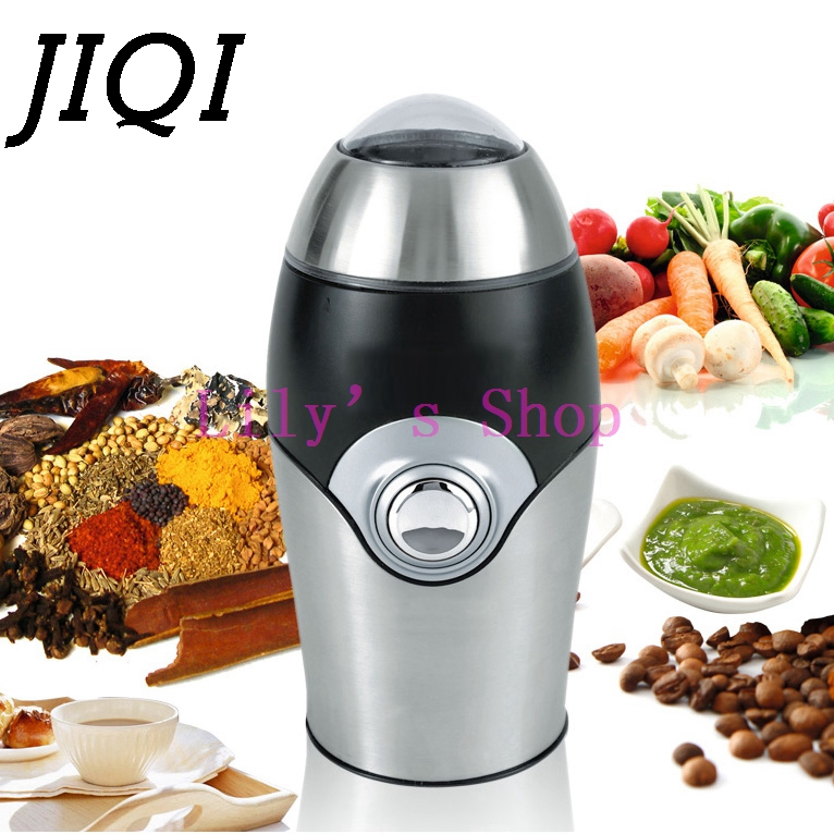 Electrical Coffee beans grinder COFFEE mill stainless steel Household Grinding Machine Nut Whole grains pulverizer EU US plug portable household electric coffee furnace oven mini 500w stainless steel small coffee stove stew pot cooker machine us eu plug