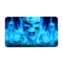 Hot PVC Custom Blue Skull Sticker Skin Case Cover Protector Decal For Sony for PS4 Dualshock Controller