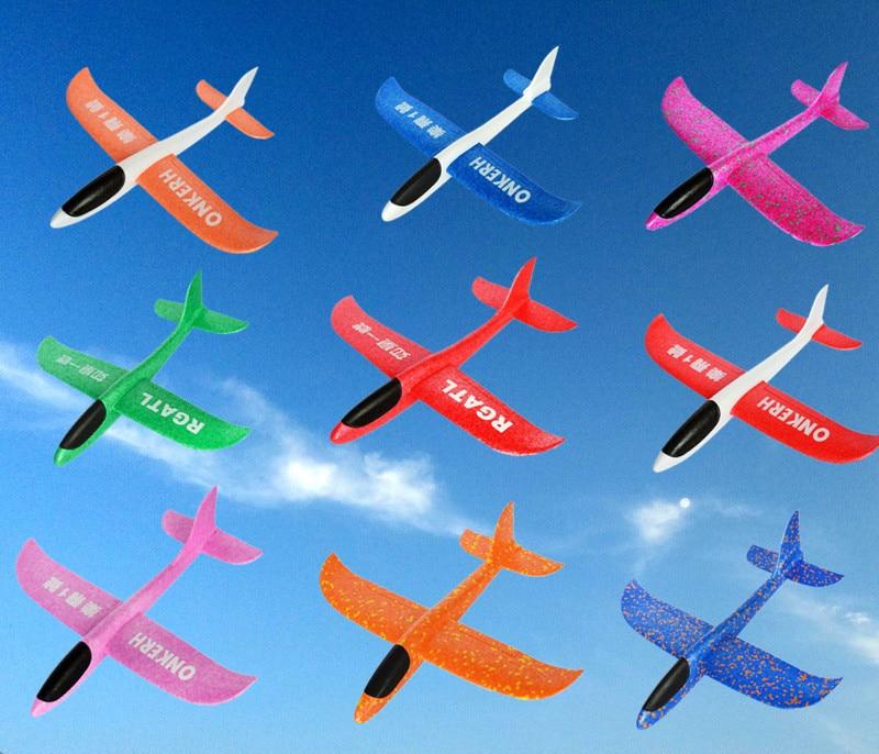 1 pièces bonne qualité 31cm Epp main lancement avion mouche planeur jouet avion main jet mousse avion modèle jouets pour enfants enfants cadeaux