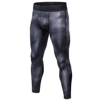Men S Compression Pants Skinny Sweatpants Men Gyms Leggings Jogger Male 3D Workout Pants Fitness Elastic