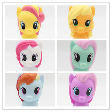 My Cute Lovely Little Horse Action Figures Model Toys Dolls Poni Figure for Girls Free Shipping 5cm цены