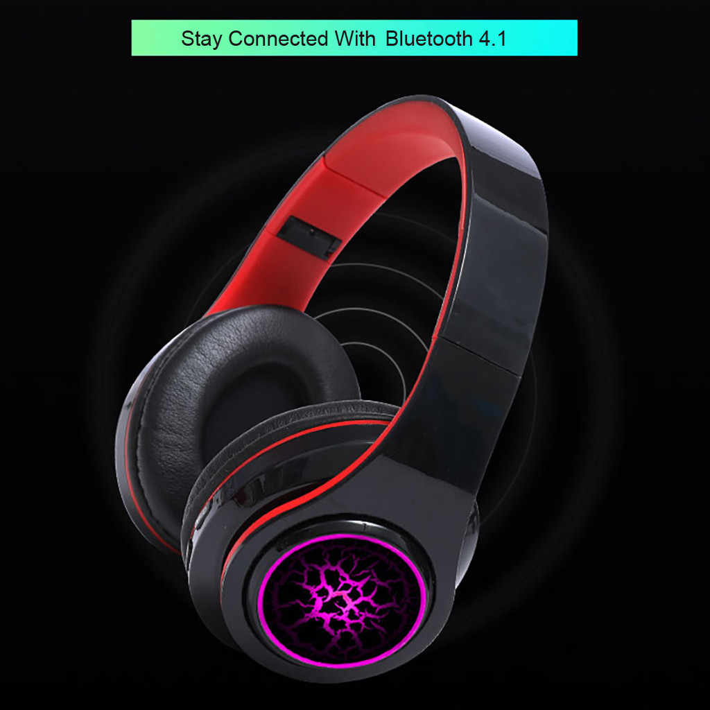 wireless Earphone Senza Fili BT 4.1 Della Cuffia Over-Ear Lsolamento Del Rumore HIFI Stereo Bluetooth earphones earbuds stereo