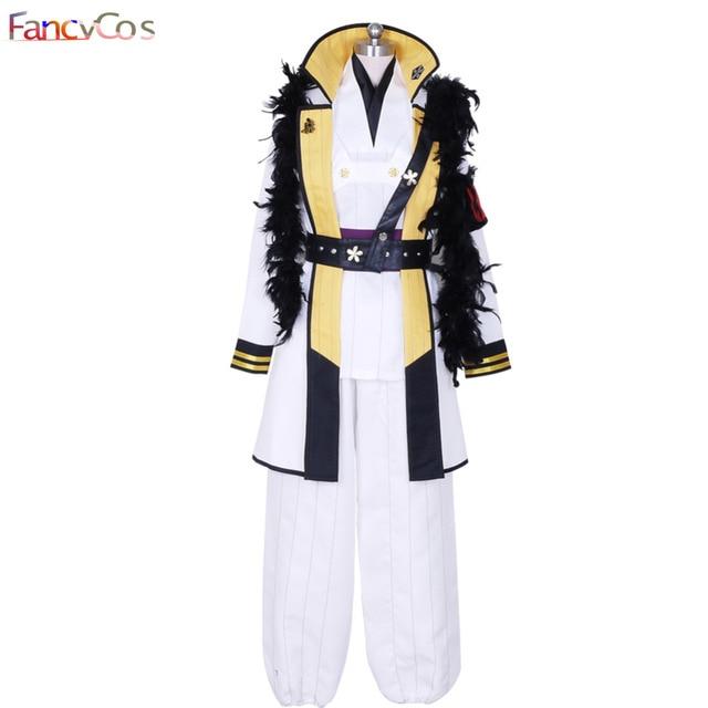 Halloween Men's Hakuoki Kazama Chikage Cosplay Costume Anime Movie High  Quality Custom Made