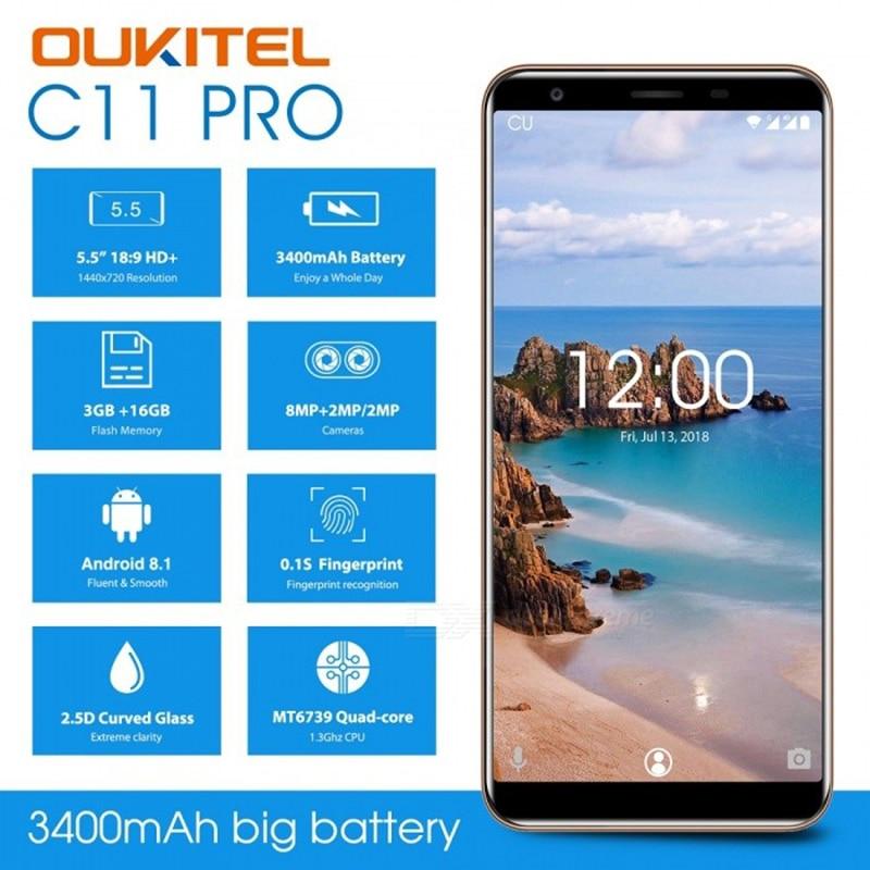 Oukitel C11 Pro 4G LTE 5.5