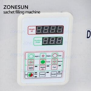 Image 5 - ZONESUN 2 200g Tea Packaging Machine Sachet Filling Machine Can Filling Machine Granule Medlar