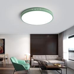 Светодиодный современные потолочные светильники минималистский Дизайн Маскарона Цвет украшения дома ламп приспособление круглый Цвет ful
