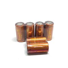 8pcs/lot Trustfire IMR 650mAh 16340 3.7V High Drain Rechargeable Battery Lithium Batteries For Led Flashlights E-cigarette