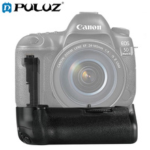 PULUZ Battery Grip For Canon EOS 5D Mark IV Vertical Camera Battery Grip For Canon Digital SLR Camera