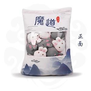 Image 2 - Mo Shi Dao Zu e Conseguiu Reencarnar como um Slime Boneca de Pelúcia Travesseiro Para Dormir Travesseiro Almofada Brinquedos de Pelúcia de Presente Boneca