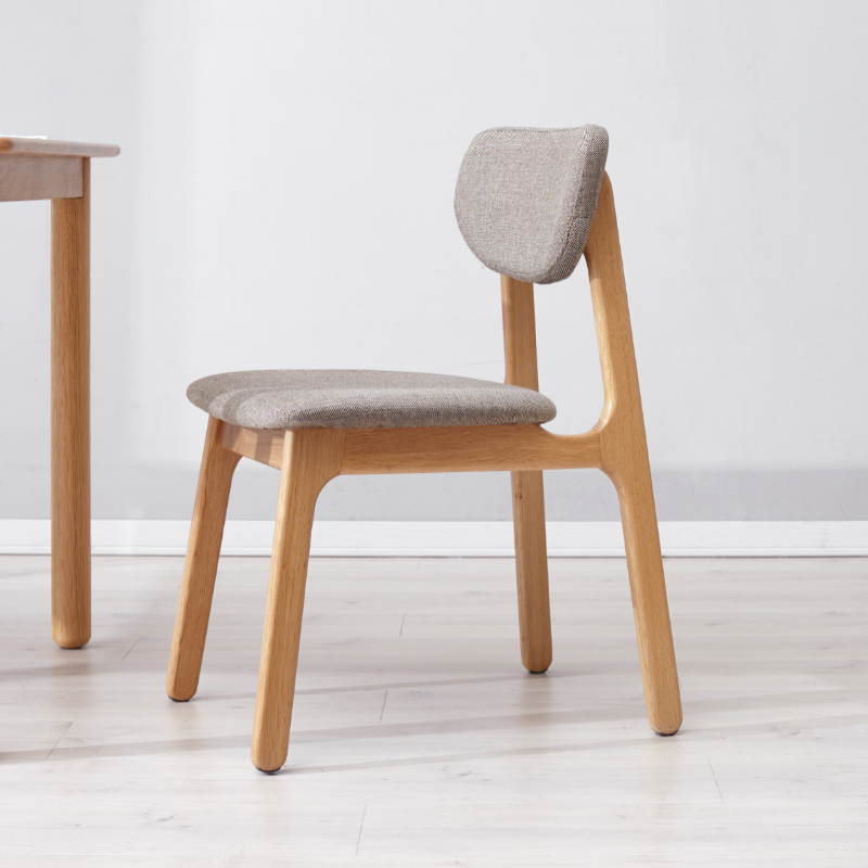 Excellent Us 220 48 25 Off Solid Wood Dining Chair Nordic Oak Soft Bag Back Desk Chair Modern Minimalist Lounge Chair Green Furniture In Dining Chairs From Cjindustries Chair Design For Home Cjindustriesco