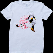 Dragon Ball Z Kid Buu Backflip White, Custom Made T-Shirt Free shipping  Harajuku Tops Fashion Classic Unique   T Shirt цена