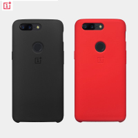 Original Official Soft Silicon Case For Oneplus 5T Back Cover Oneplus5T Phone Shell Cases And Covers