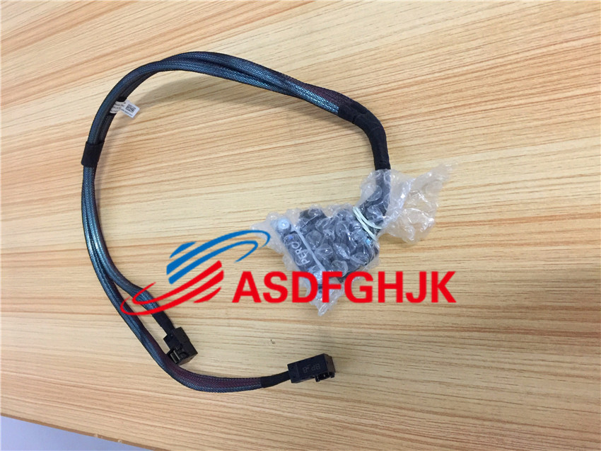 ФОТО Original Stock FOR Dell POWEREDGE R430 Dual Mini SAS HD Cable 2x Sff-8643 Connectors 7NKWC CN-07NKWC 07KWC 100% Work Perfect