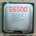Оригинал Для Intel Pentium Dual Core E6500 Процессора (2.93 ГГц/2 М/1066 МГц) Настольных LGA775 ПРОЦЕССОР (работает 100% Бесплатная Доставка)