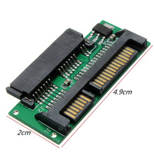 1.8 inch Micro SATA SSD HDD Hard Disk Drive to 2.5 Laptop Notebook Adapter PCB