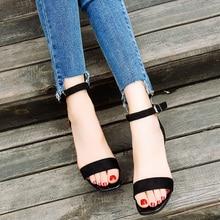 2018 Ankle Strap Heels Women Sandals Summer Shoes Women Open Toe