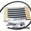 Automotive modificado caixa de velocidades radiador oil cooler 6-linha de onda automático sistema de refrigeração de refrigeração de alumínio