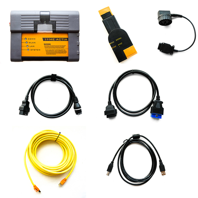2019 New! Wifi ICOM P for BMW Diagnostic & Programming Tool Compatible with ICOM NEXT New Generation of ICOM A2 with HDD ista p