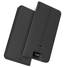 For Asus Zenfone 6 ZS630KL 6Z Case PU Leather Flip Stand Wallet Phone Cover 5 ZE620kl Magnetic Card Holder