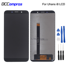 Original For Uhans i8 LCD Display Touch Screen Digitizer Assembly For Uhans i8 Screen LCD Display Free Tools Phone Parts все цены