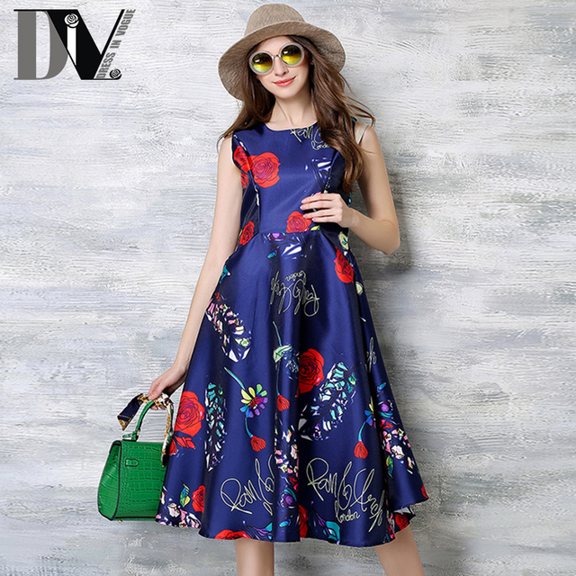 Vestidos con flores para mujer