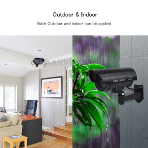 Image 5 - Fake Dummy Camera Outdoor Waterproof Home Security Video Surveillance Bullet Camera Indoor Night Vision Ipcam With LED light