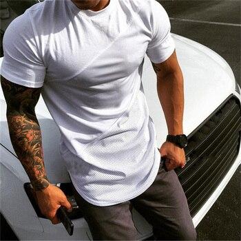 Plain Cotton Patchwork T-Shirt