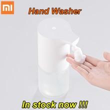 Stokta orijinal Xiaomi Mijia otomatik indüksiyon köpük el yıkama yıkama otomatik sabun 0.25s kızılötesi sensör akıllı evler için