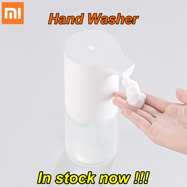Trong Chứng Khoán Ban Đầu Xiaomi Mijia Cảm Ứng tự động Tạo Bọt Tay Máy Giặt Rửa Xà Phòng Tự Động 0.25 s Cảm Biến Hồng Ngoại Cho Thông Minh Nhà