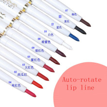 1 Pcs Automatic Rotary Lip Liner Long-Lasting Natural Brand Makeup Sexy Products Lady Waterproof Beauty 2016 Lip Pencil