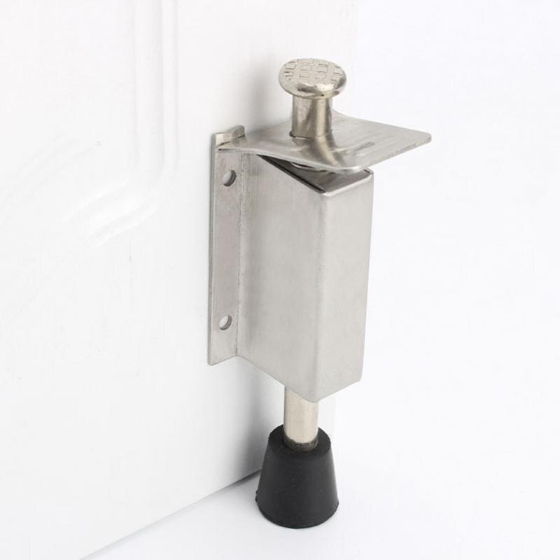 Door Stop For Heavy Door.Us 4 47 5 Off Stainless Steel Door Stoppers For Heavy Doors Stopper Kickdown Deurstopper Doorstop Exterior Door Stopper Floor Door Stop Holder In