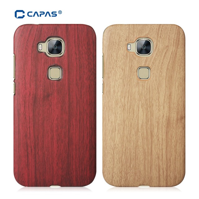 promo code d39b6 c6c8c US $6.45 |For Huawei G8 Case Wood Wooden Pattern Plastic Shockproof Cover  for Huawei G8 G7 Plus Case Funda Durable Protective Shell Brown-in ...