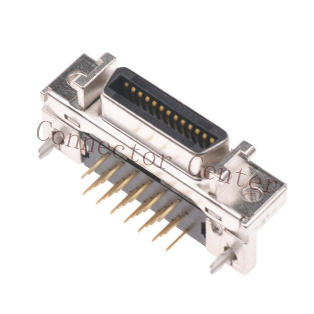 mdr scsi connector pitch 1 27 26pin right angle 90 degree compatible with  3m 10226-52a2
