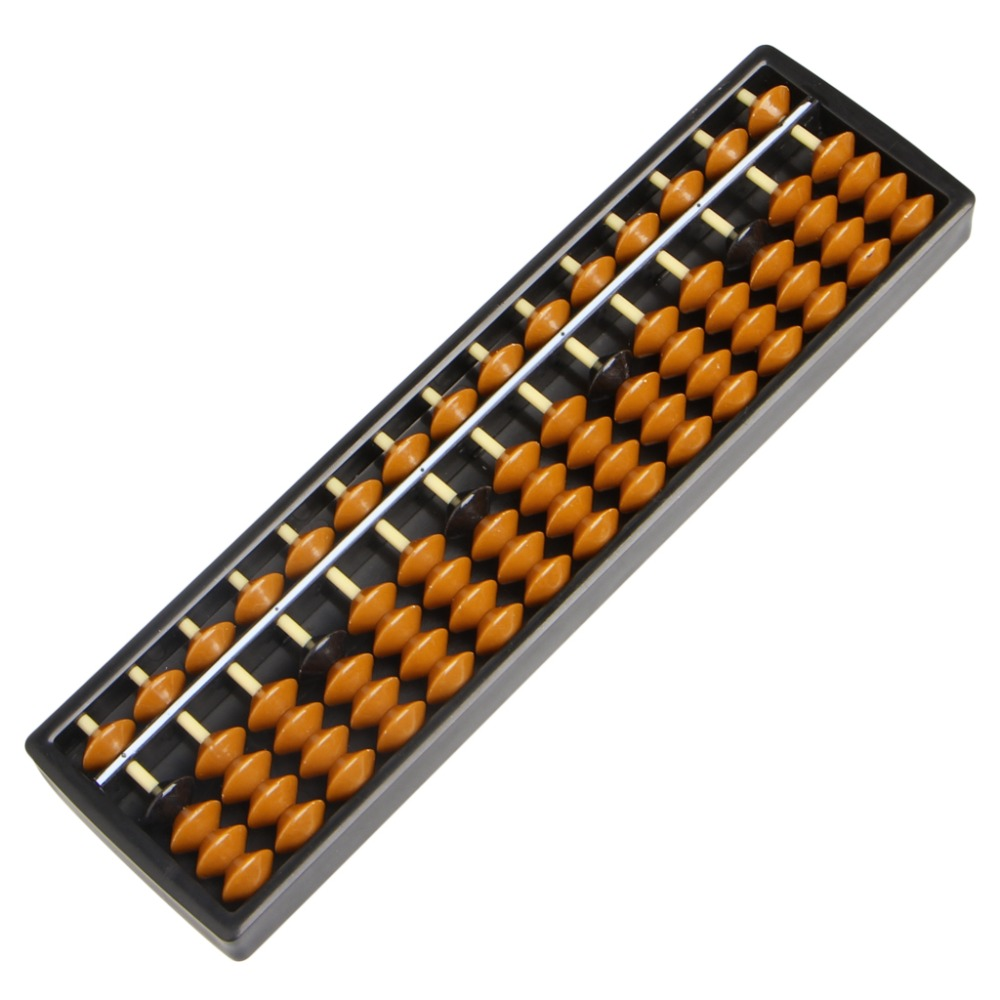 Новые Пластиковые Abacus 15 Цифр Арифметических Инструмент детские Математика Учиться Помощи Caculating Игрушки Подарки