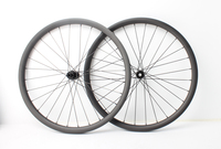 Farsports FS27T 30 30 DT350 30mm 30mm hookless and tubeless compatible design MTB 650B 27.5er carbon clincher wheelset