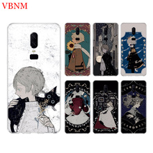 Dark Illustration Funny New Phone Back Case For OnePlus 7 Pro 6 6T 5 5T 3 3T 7Pro 1+7 Art Gift Patterned Customized Cover Coque